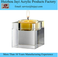 JYCH-006Factory wholesale acrylic tea light candle holder/tea candle holder