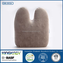 Cervical support chairs medical back custom decorative memory foam pillows for office chairs