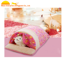 2017 Pet Dog Sleeping Nest With Mat Foldable Pet Dog Bed Cat Bed House For Small Medium Dogs Travel Pet Supplies