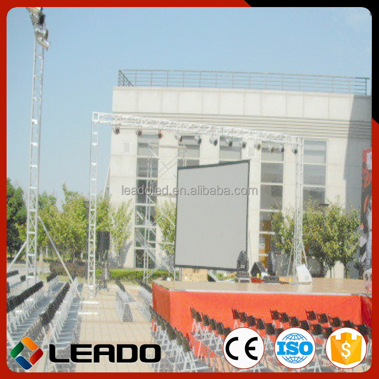 High density High-ranking rental big screen outdoor led tv