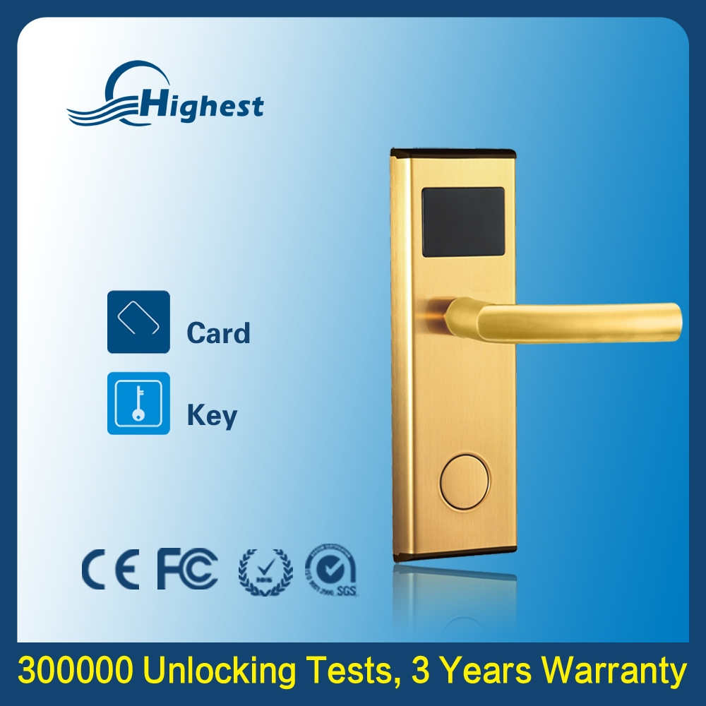 5V DC Battery Powered Electronic Key Easy To Install Removable Connecting Door Lock Companies Looking For Distributors