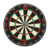 Giant inflatable dart board/ shooting target for serious players, indoor sport
