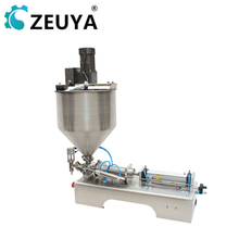 new arrival semi automatic 100-1000ml canned <strong>fruit</strong> filler ce approved