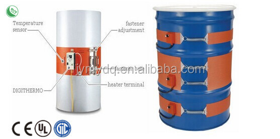 used oil burner,Professional custom make all kinds of silicone rubber heater
