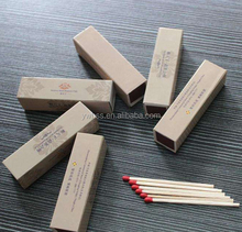 promotional gift nice logo print custom wooden matches match box