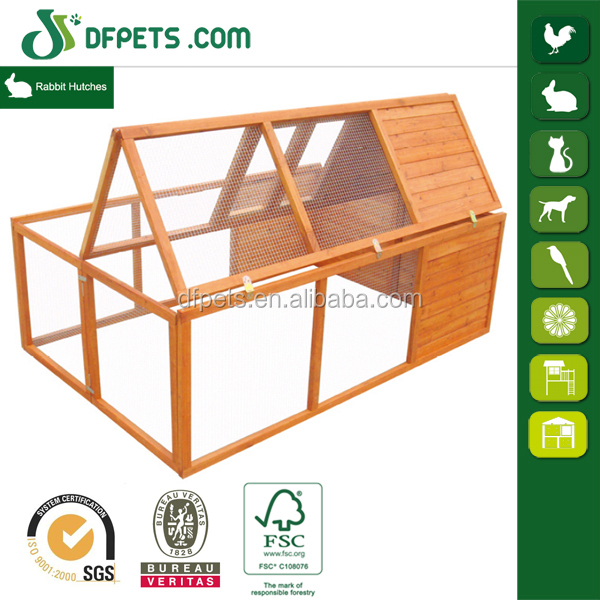 DFR023 Outdoor Wooden Cheaper Rabbit Cage