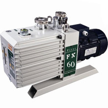 60m3/hr mechanical double stage oil rotary vane vacuum pump model 2XZ-15B/ FX60 for Plasmar industry