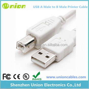 New 6ft USB 2.0 A Male to B Male Printer AB Cable