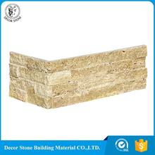 Top Quality wall cladding slates with corner stacked stone panel
