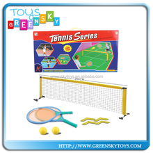 Good Quality Kids Tennis Toys Tennis Racket And Tennis Net