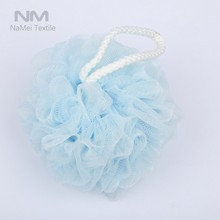 Promotional Cheap Price Pouf Bath Sponge ,Shower Puff,Washing Ball