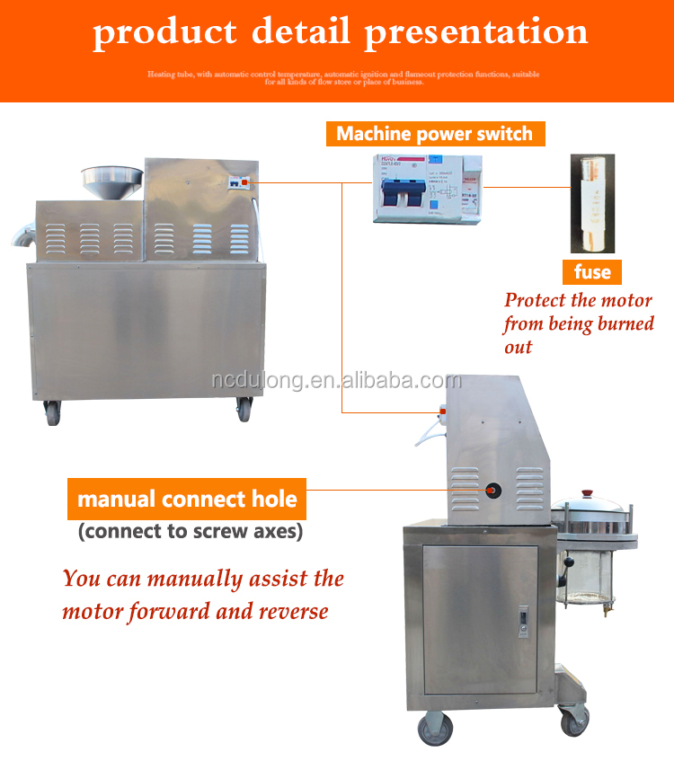 Best selling 15~20kg input small cold press oil machine