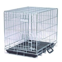 Collapsible Stainless Steel Dog Cage