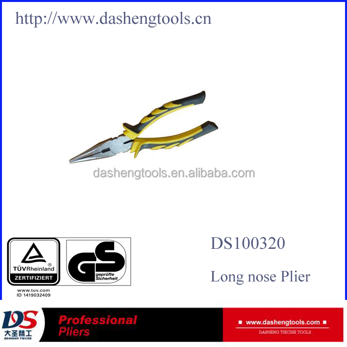 professional hand tool manufacturer Drop Forged Long Nose Pliers DS100320