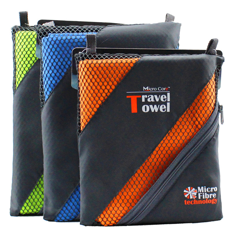 Light weight microfiber custom design outdoor sport travel <strong>towel</strong>