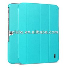 New Arrival 4 Fold Stand Flip Leather Case For Samsung Galaxy Tab 3 10.1 P5200 P5210