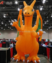 Giant Inflatable Firedragon Cartoon/ Inflatable Christmas Cartoon Decoration