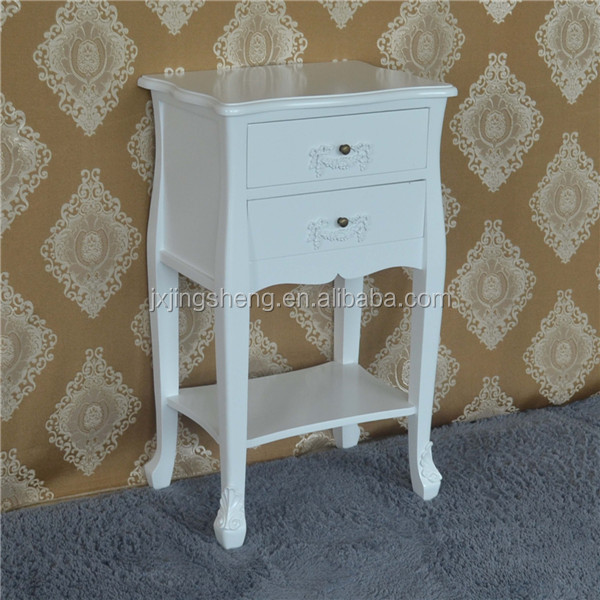 Modern bedroom furniture french countryside wooden nightstands