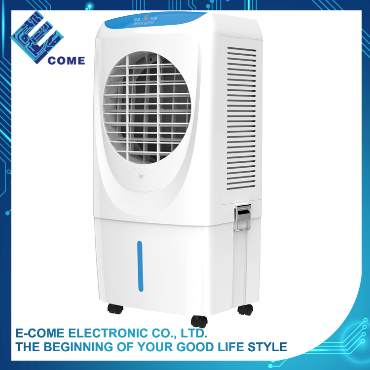 130W classic white standing electric ventilating fan for home and office