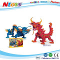 Safety EVA toys foam blocks with EN71/7P certificates (FIGHTING DRAGON).24PCS