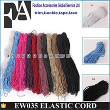 elastic band round band/elastic rubber rope/cord