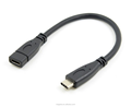 20cm USB 3.1 Type C Male to Female extension cable