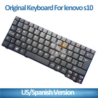 Black US Notebook Laptop keyboard for Lenovo S9 S10 S9E S10E M10 M10W S20 3G