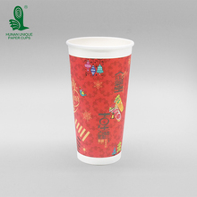 recycled custom printed paper coffee tea cups with handles for wholesale in Australia