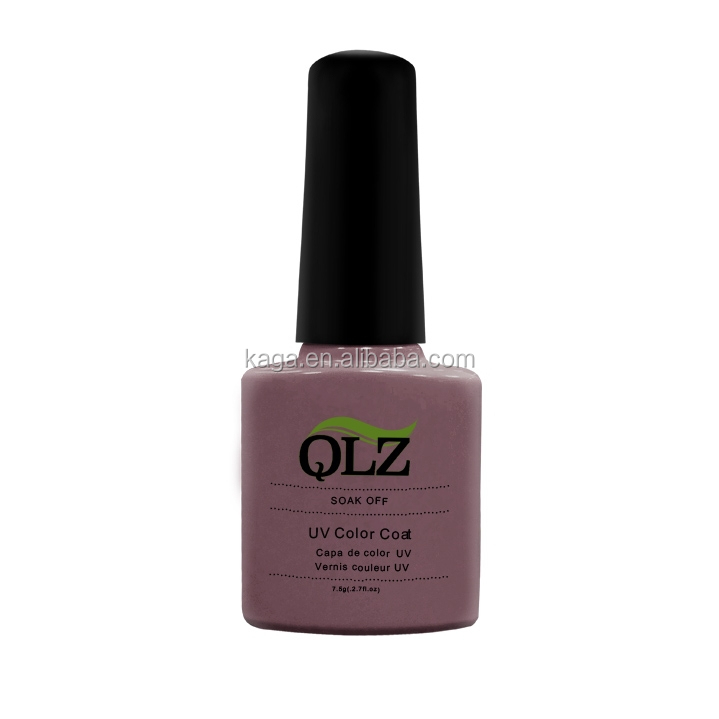 QLZ soak off gel nail varnish