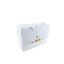 Hot brand luxury personalized flat bottom promotional bag