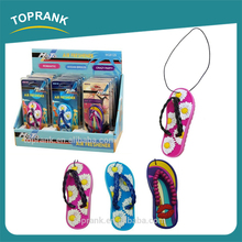 TOPRANK AUTO GEL AIR FRESHENER BEACH SLIPPER DESIGN HANGING CAR AIR FRESHENER