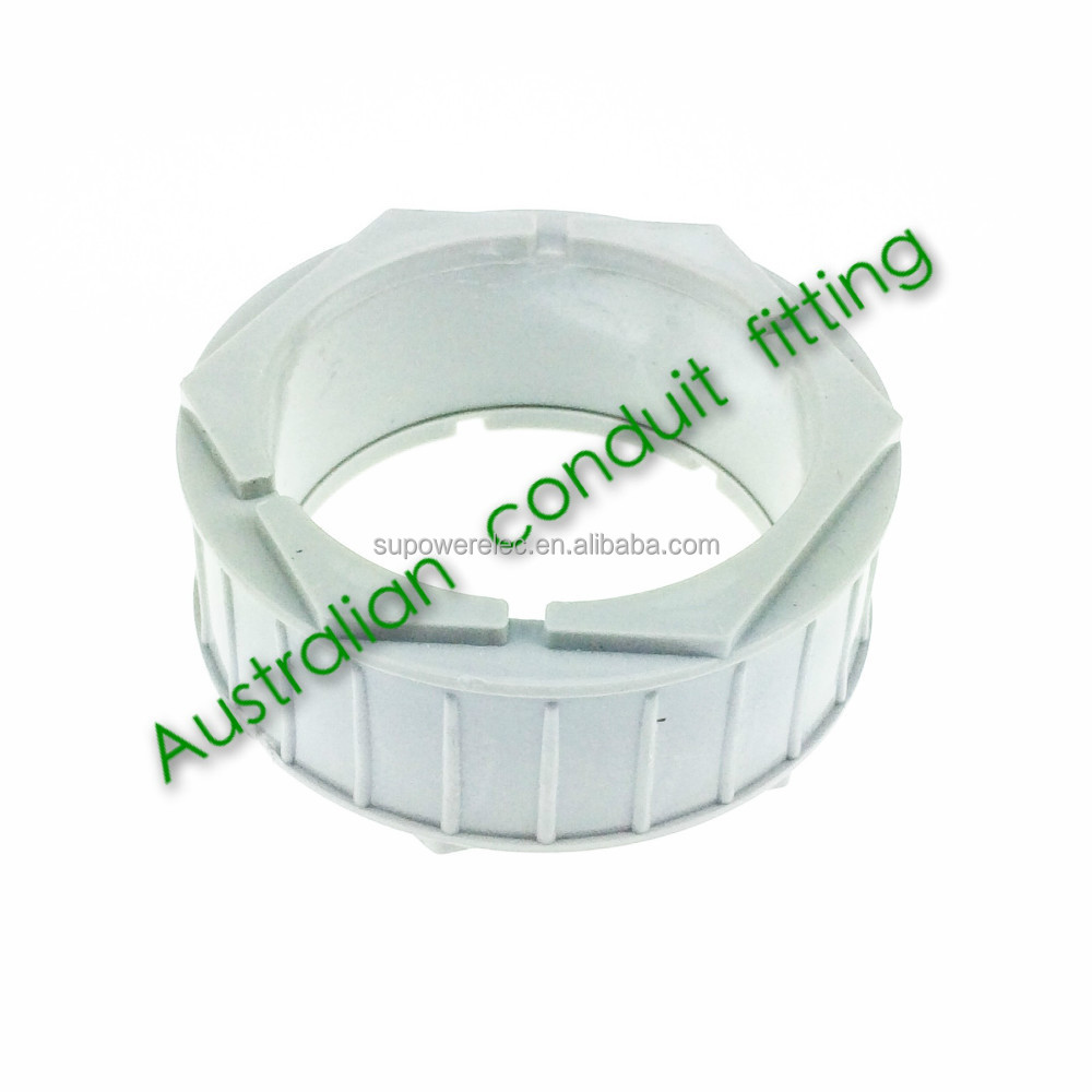 Australian PVC Pipe fitting Male Famale Conduit bush