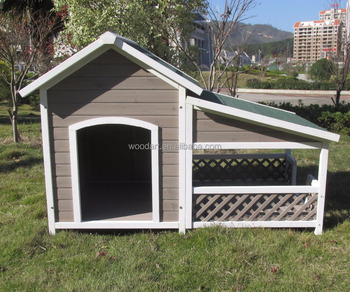 Factory wholesale  comfortable large dog house wooden dog cage for big size dog