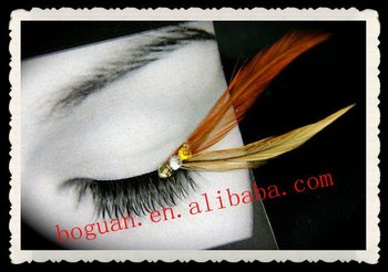 natural feather mink eyelash extension