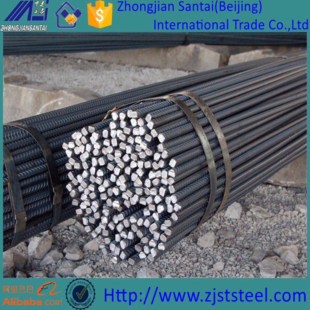 Hot Rolled Ribbed Bars Mild Deformed Bar/Reinforcing Bar/gr60 Steel Rebar