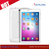 Original 7 inch Onda V719 3G MTK8382 Quad Core 1GB RAM 8GB ROM Dual SIM Support Phone Call Android 4.2 Tablet PC