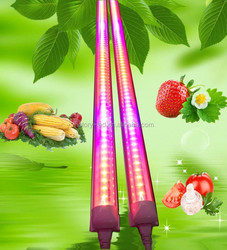 Full Spectrum Fruits and Vegetables Growth Lighting 4ft 1200mm 18w T8 LED Tube Grow Light
