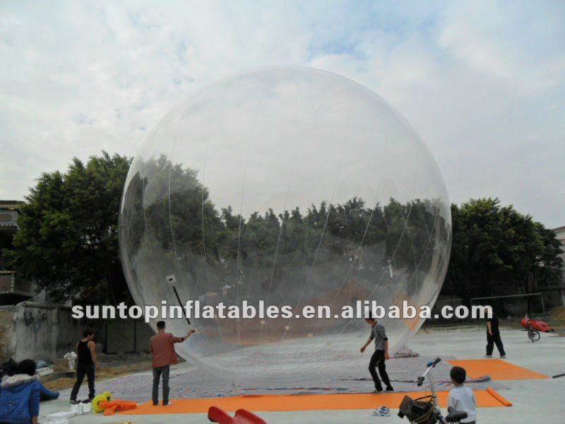 giant advertising transparent PVC inflatable balloon