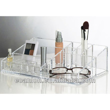 clear acrylic plastic mac makeup organzier