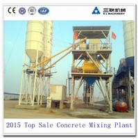 China dry concrete mixing bacth plant\China top sale road construction equipment