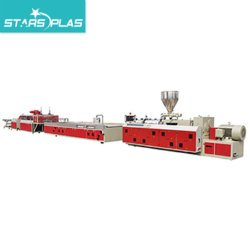 Plastic WPC Wall Ceiling Decoration Wall Panel Extrusion Machine