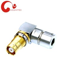 1.6 5.6 Jack Right Angle rg179 coaxial cable rf connector