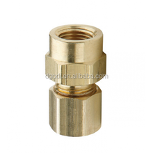 Custom high quality pipe fittings brass 10mm compression fittings