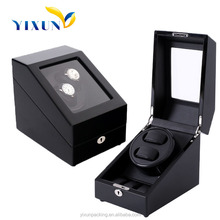 luxury men watch winder box custom logo,wooden automatic watch winder