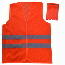 Custom cheap high quality visibility reflective safety vest