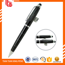 Novo design da novidade de metal stylus capacitive touch screen pen