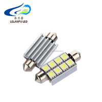 Festoon 8SMD 5050 CANBUS 41MM 42MM 8led 5050 LED License Plate Interior Dome Light Bulb error free