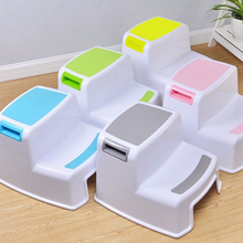 Child Toilet dual height folding 2 step stool for kids