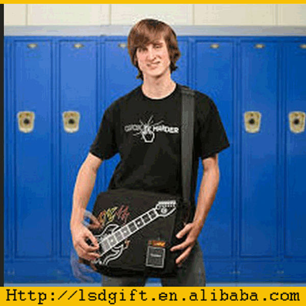 led flashing playable electronic rock guitar t shirt