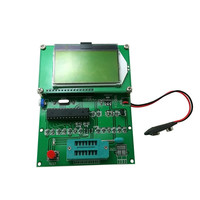 M328 Transistor Meter RLC ESR Capacitance Resistance Inductance Tester Mosfet 12864 LCD Screen Module